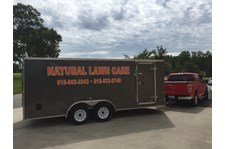 Natural Lawn Care Trailer Decal